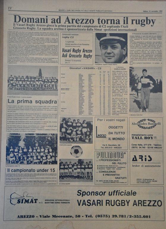rassegna stampa 1983