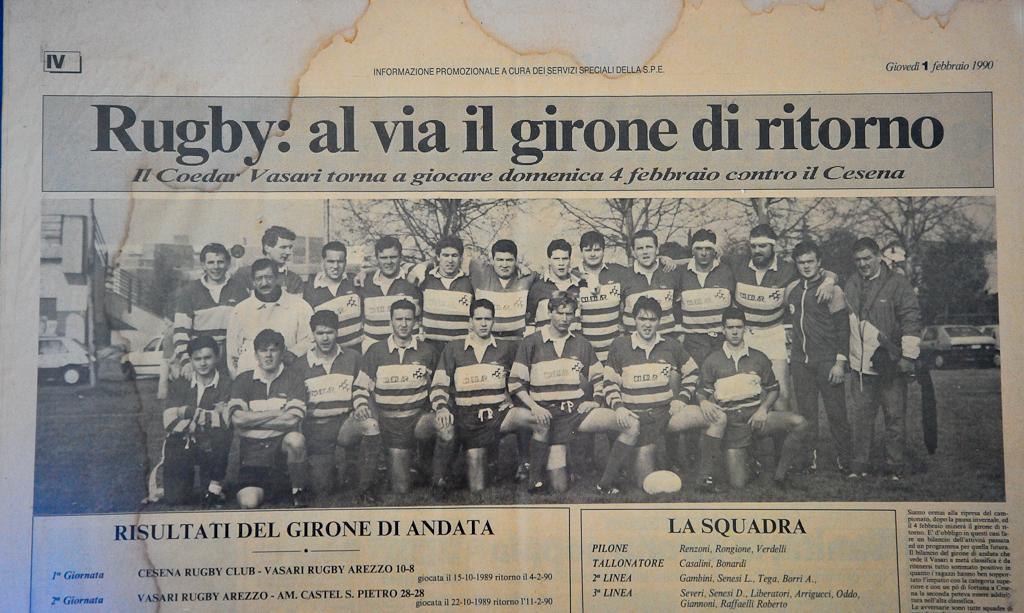 rassegna stampa 1990