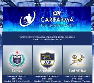 Cariparma testmatch 2014
